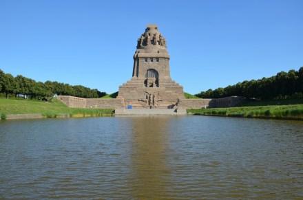 Das Völkerschlachtdenkmal nach der Sanierung. Foto: Leipzig Travel / Andreas Schmidt