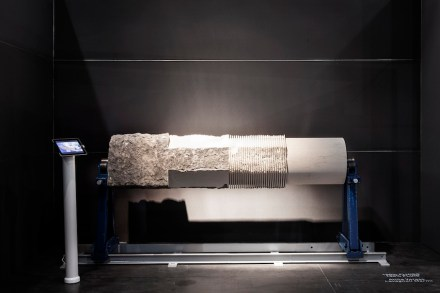 Marmomacc & Design: Attila Veress, Lavagnoli Marmi.
