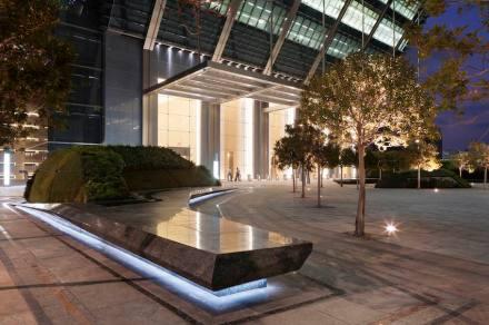 Martha Schwartz: Sowwah Square, Abu Dhabi.