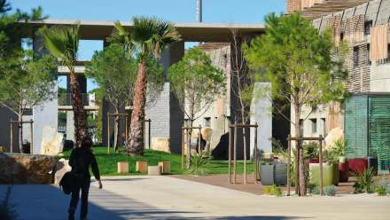François Fontès Architecture: Lycée Marc Bloch, Sérignan.