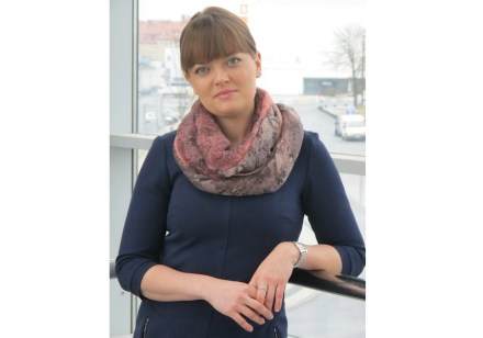 Joanna Mizerska is the trade fair's director.