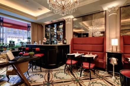 Aqui trata-se do restaurante do famoso star chef Eric Chavot, na Conduit Street.