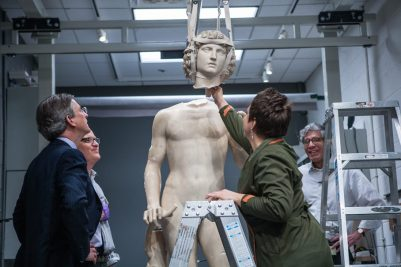 "Adam"" is back in new splendor in the New York Metropolitan Museum of Art   Stone-ideas.com"
