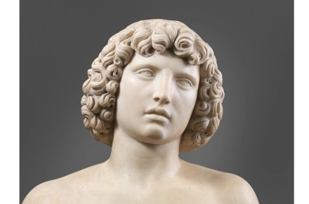 "Metropolitan Museum of Art, New York: Tullio Lombardo's ""Adam""."