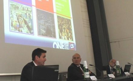 Michele Giromini (a sinistra).