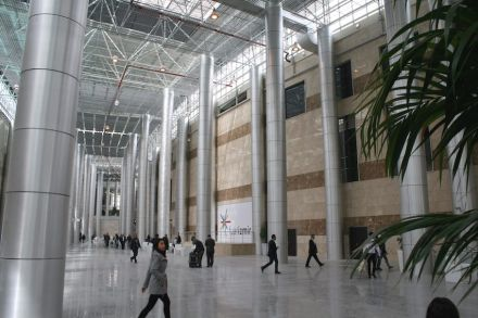 La nuova area fieristica di Izmir è un gioiello per la presentazione delle pietre naturali.