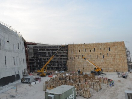 Antoine Predock: College of Media and Communication, Qatar Education City.