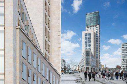 Christoph Mäckler Architekten, Hofmann Naturstein: Waldorf Astoria.