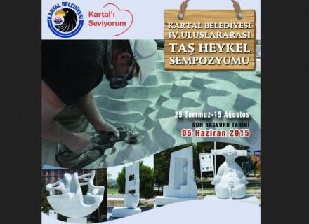 International Stone Sculpture Symposium, Kartal, Türkei.