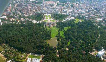 """Fächerstadt"" Karlsruhe. Foto: Frederic Ramm / Wikimedia Commons"