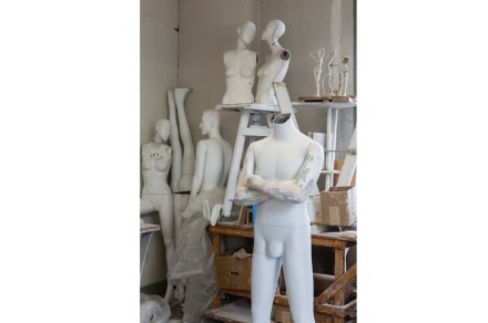 Mannequin Parts in Michael Evert's Studio, 2014. Collection of Ralph Pucci. Photo: Antoine Bootz