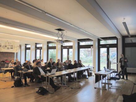 Der Deutsche Naturwerkstein-Verband veranstaltete im November 2015 in Würzburg ein Seminar zu Sustamining. Foto: DNV