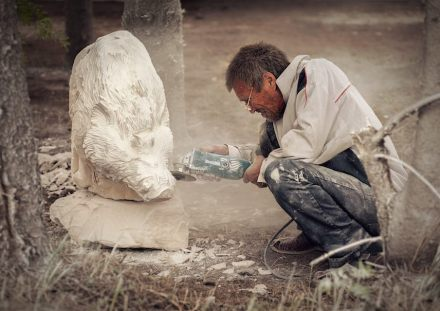 The Stone Carvers' Festival is an exciting event in the life of the people from the Red Yasil village and from Perm Kray. Photos: Mr. Сhuprikov