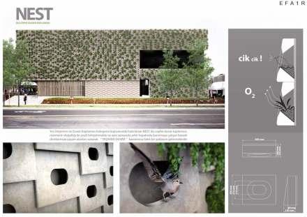 Professional designers, claddings for floor and wall, Second Prize: Ayşegül Uzunyol, Serdar Soyal.