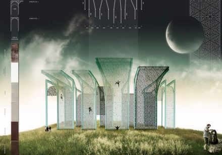 """Das Bild zeigt einen der Gewinner in der Kategorie Architektur: """"Scalarte"""" art in scale"""" von Luis Miguel Sánchez (Escuela Técnica Superior de Arquitectura, Madrid, Spanien)"""