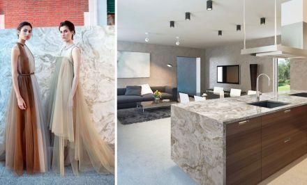 Levantina Fashion Night: granito Lungomare, Naturamia Collection.