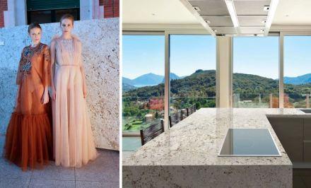 Levantina Fashion Night: granito Olimpo, Naturamia Collection.