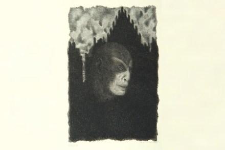 "Der Golem. Aus dem Buch ""Der Golem, Prager Phantasien"". Quelle: Wikimedia Commons"