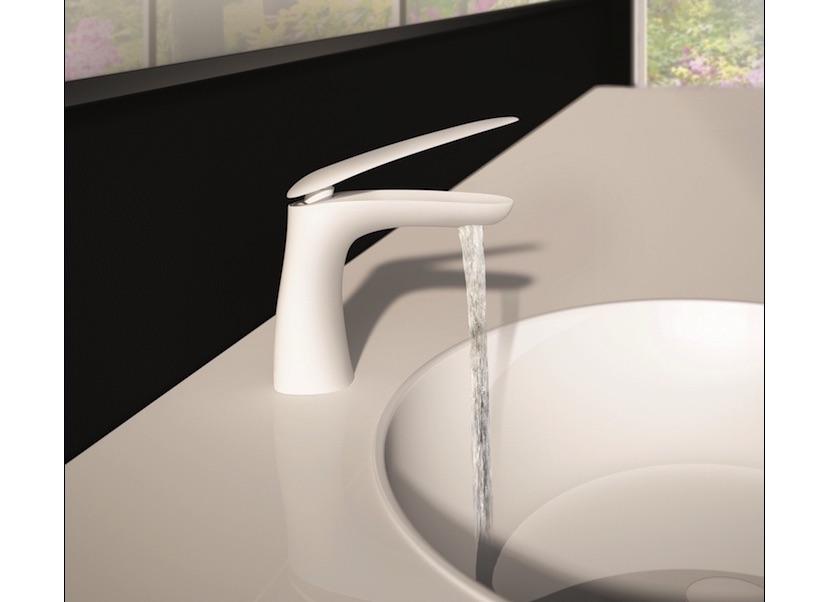 fir italia armaturen kollektion synergy mit griffen aus corian stone. Black Bedroom Furniture Sets. Home Design Ideas