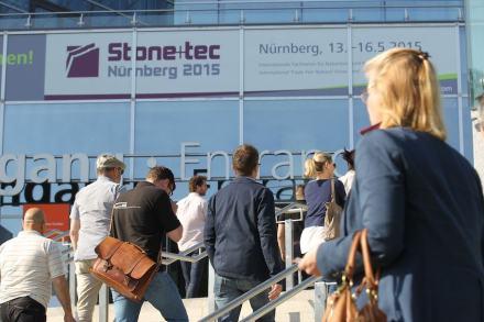 Die NürnbergMesse plant Neuerungen für die nächste Stone+tec 2018.