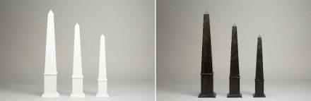"""""""Anouska Hempel and Lapicida"""": obelisk."""