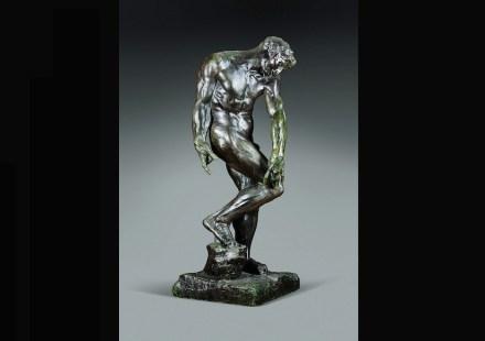 """Auguste Rodin: """"Adam"""" (für """"Das Höllentor"""") 1881, Bronze, Alexis Rudier Foundry, Guss 1928-1929, 197 x 76 x 77 cm. Art Gallery of Ontario, Toronto, gekauft 1929. Foto: AGO"""