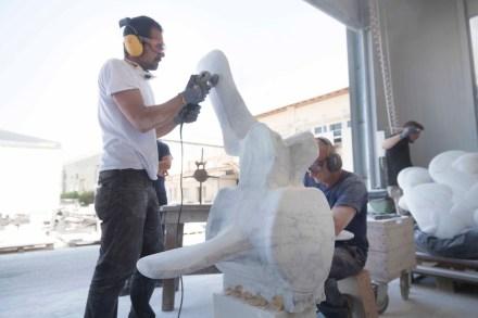 "Daniele Guidugli: ""Moby Dick (Vertebra)""."