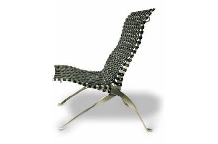 """Jean Nouvel, mes meubles d'architecte"": Milana, 1995, chauffeuse, Editions Sawaya & Moroni."