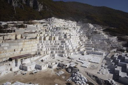 Pirgon Marbles quarry.