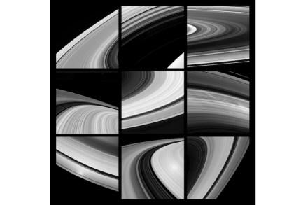 """Elyn Zimmerman, """"Saturn Rings""""."""