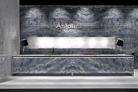 Antolini auf der IMM Cologne 2017. Rendering: Antolini