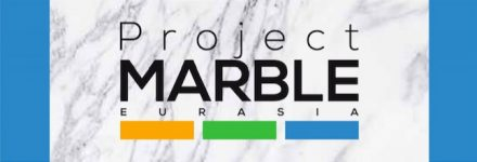 Logo of Project Marble Eurasia.