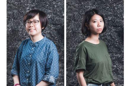 Designer Wu Chen-Yi (left), designer Yang Kai-Mei.