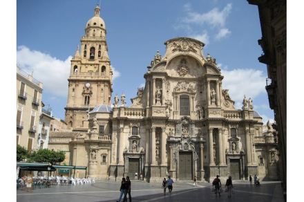The Cathedral of Murcia. Photo: Claudia H / Wikimedia Commons