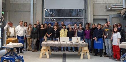 Studenten des Masterstudiengangs Denkmalpflege – Heritage Conservation.