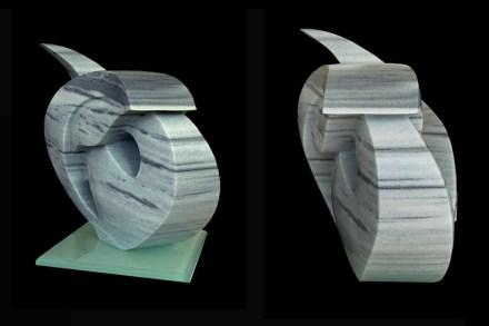 """Rumi I"", 50x45x30 cm, Marmara marble."