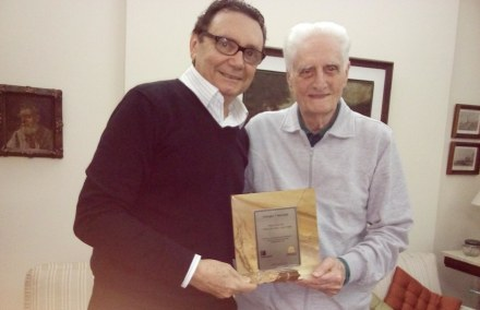 Carlos Rubens Alencar, presidente do Simagran-CE, e Giorgio Veneziani. Foto: privado