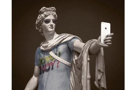 "Leo Caillard: ""Hipsters in Stone II""."