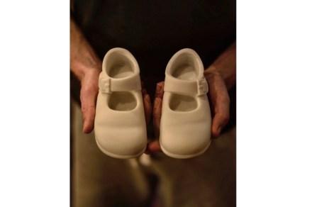"""Alasdair Thomsen: """"Georgia's Shoes""""."""