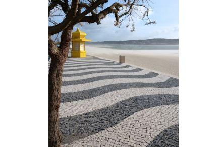 Just like the Copacabana: Foz do Arelho, Portugal.