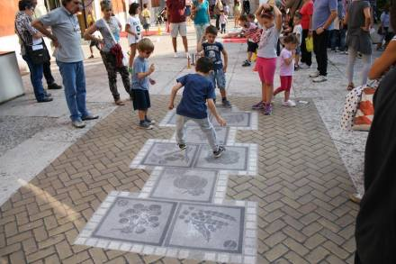 """Street paving with natural stone can be much more than traditional cobblestones as Italian company <a href=""""http://ludendo.it/""""target=""""_blank"""">Animum Ludendo Coles</a> proves."""