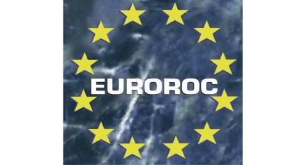 Euroroc's logo, the umbrella organization of the European Natural Stone Representatives.