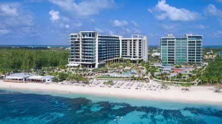 Category International Award for Latin America/Caribbean: Kimpton Seafire Hotel, Grand Cayman Island.