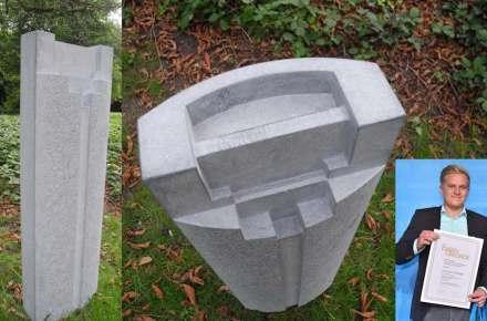 """Die Gute Form"": Tim Göx, 1. Prize (stonemasonry)."