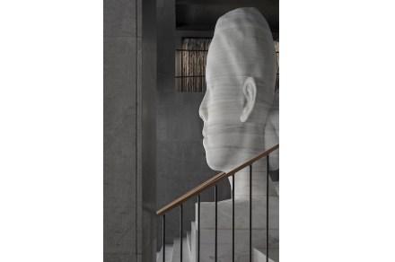 "Stockholm's Art Hotel ""At Six"": Jaume Plensa, ""Mar Whispering""."
