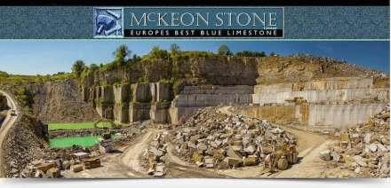 Der Threecastle Steinbruch im County Laois.