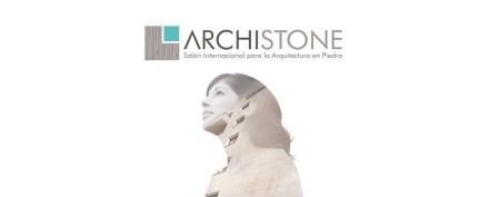 Logo der Messe Archistone.