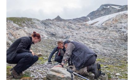 Lichenologists at work in the Hohe Tauern in South Tyrol. Photo: Dr Peter O. Bilovitz