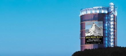Das Gasometer in Oberhausen. Foto: Gasometer