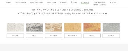 """Polish Ziel-Bruk produces concrete tiles in colors it names """" wapien"""" (limestone) or """"piascawie"""" (Sandstone)."""
